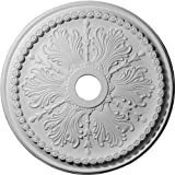 Ekena CM27WI 27 1/2-Inch Outer Diameter x 4-Inch Inner Diameter x 1 1/2-Inch Projection Winsor Ceiling Medallion - Primed