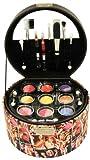Gloss - caja de maquillaje, caja de regalo para mujeres - Maleta de Maquillaje - Fashion Disco - 36 Pzs