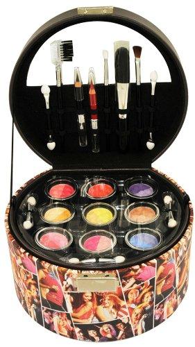 Gloss - Mallette de maquillage boîte à bijoux - Collection Disco - incluant 3 vernis à ongles