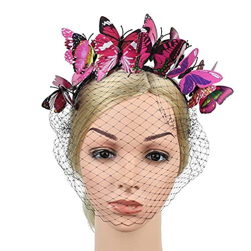 FunPa Halloween Fascia Farfalla 3D Boemia Plastica Decorativa Cerchio dei Capelli del Partito Copricapo Fotografia Puntelli Foto Photo