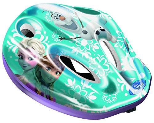Dino Bikes Disney Princess Casque Vélo Fille sous Licence Frozen, CASCOFZ Helmet, Bleu