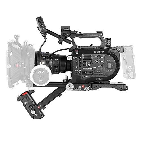 JTZ DP30 Telecamera Supporto per spalla manubrio KIT per barra da 15mm per SONY FS7 PXW-FS7
