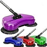 SAIF Cepillo de mano automático 3 en 1 para limpieza del hogar, incluye escoba, recogedor y cubo de basura, limpiador sin electricidad ambiental, con rotación de 360 grados