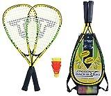 Speed-Badminton Set SPEED 4000 version sac 3/4 noir/vert. Nouveau modèle 2016 de la marque Talbot-Torro