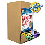 OUT! Dog Poop Bags | Strong, Leak Proof Dog Waste Bags | 9 x 12 Inches, 750 Rainbow Bags 8