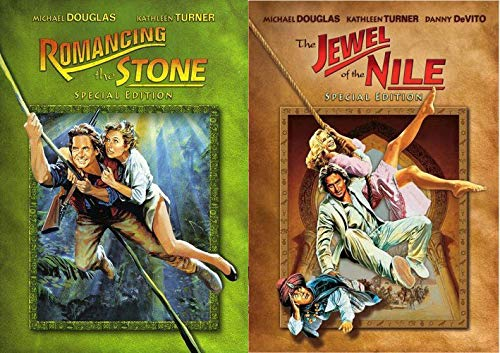 Michael Douglas / Kathleen Turner Combo: Romancing the Stone (Special Edition DVD) / Jewel of the Nile (Special Edition DVD)