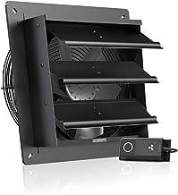 """AC Infinity AIRLIFT S10, Sluiter Uitlaatventilator 10"""" met Snelheidsregelaar - Wandmontage Ventilatie en koeling voor lood..."""