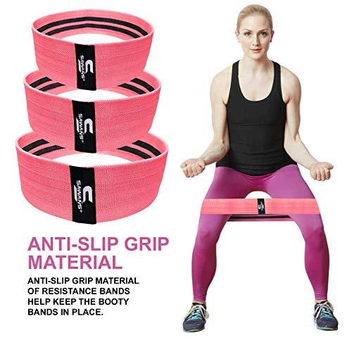 Heavy Duty Resistance Band Booty Band Non Slip Fabric Fitness Equipment Yoga UK