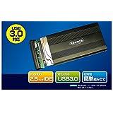 スリー・アールシステム USB3.0対応 IDE HDDケース 2.5インチ