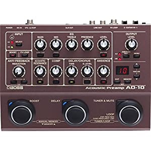 Boss Acoustic Preamp and Multi Effects Guitar Pedal