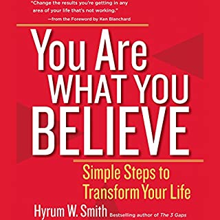 You Are What You Believe audiobook cover art