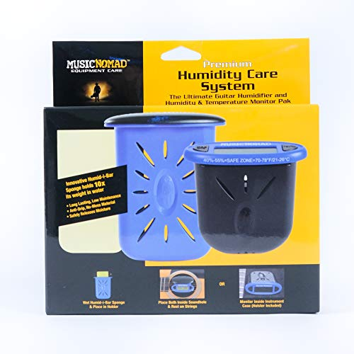 Music Nomad MN306 Premium Humidity Care System, Humitar & Humireader