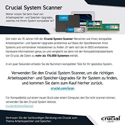 Crucial RAM CT2KIT51264BF160BJ 8GB Kit (2x4GB) DDR3 1600 MHz CL11 Laptop-Speicher-Kit