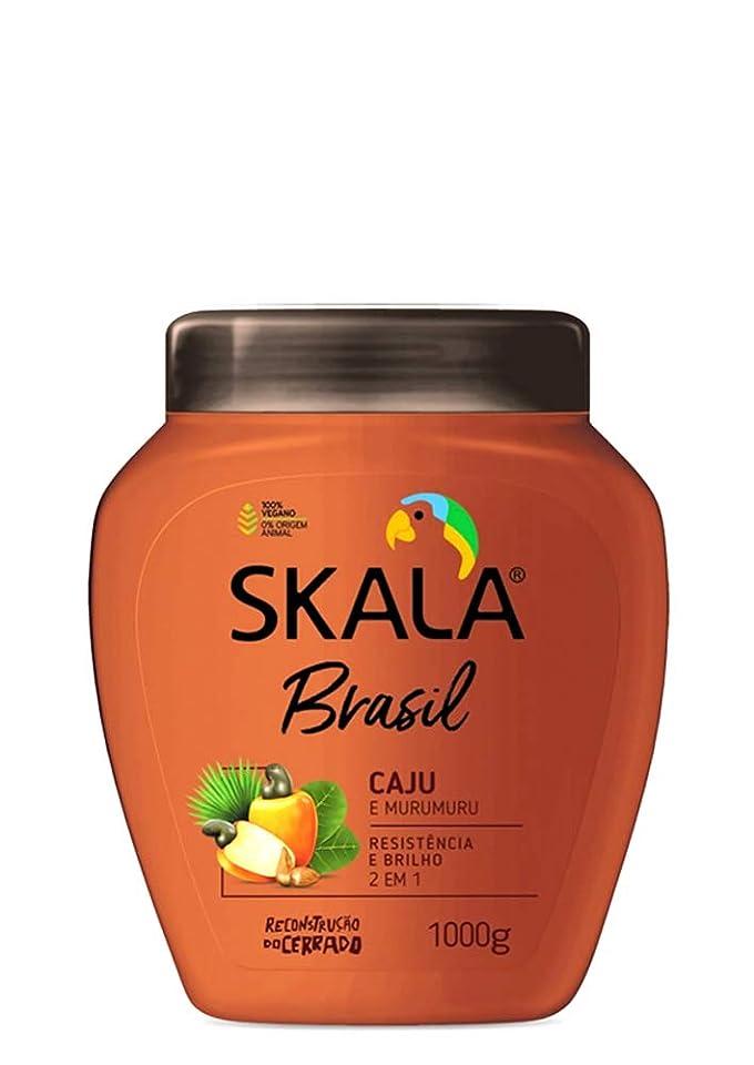 キャンペーンかすかなバンクSkala Brasil スカラブラジル カジュ&ムルムル オールヘア用 2イン1 トリートメントクリーム 1kg
