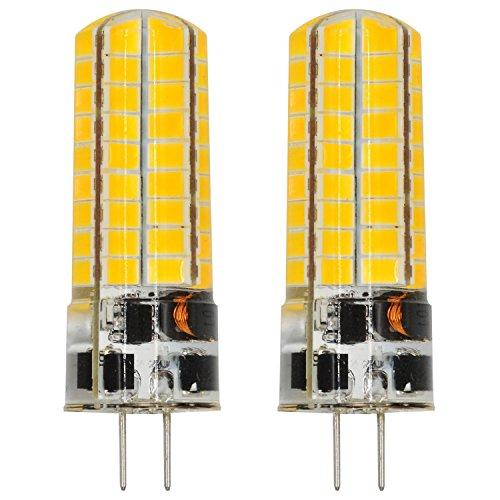 MENGS® 2 Stück G4 6W LED Lampe Warmweiß 3000K AC/DC 12V 72x5730 SMD Mit Silikon Mantel