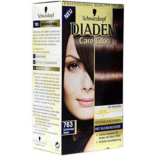 Diadem Care Gloss dauerhaft NR. 763 Schillerndes Mokka Haarfarbe