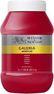 Winsor & Newton Tinta Acrílica Galeria W&N 1 Litro 203 Crimson