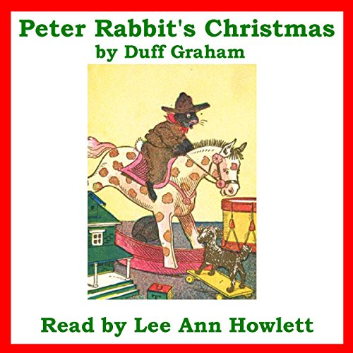 Peter Rabbit's Christmas audiobook cover art