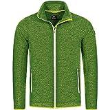 GIESSWEIN Herren Jacke Silas - Atmungsaktive Sportjacke aus Merinowolle, Männer Funktions-Bekleidung für Wandern, Trekking, Trail-Running