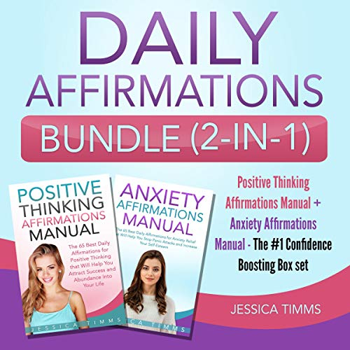 Daily Affirmations Bundle (2-in-1) audiobook cover art