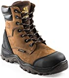Buckler BSH008WPNM High Leg Waterproof Safety Work Boots Brown (Sizes 6-13) Men's Steel