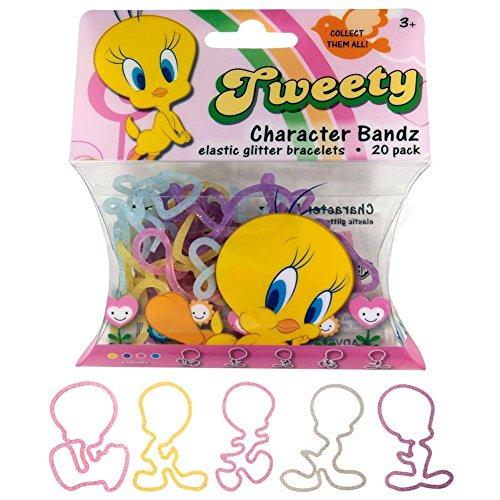 Looney Tunes Girls (Tweety) Logo Bandz Bracelets