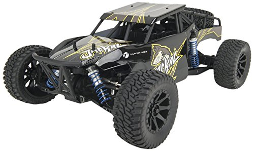 Thunder Tiger T6544-F112 Jackal 1:10 Buggy Brushless, 4WD Offroad, Black Edition, Ready to Run (RTR) inkl. Fernsteuerung, Schwarz