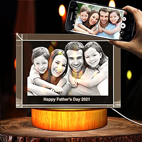 3D Crystal Engraved Picture