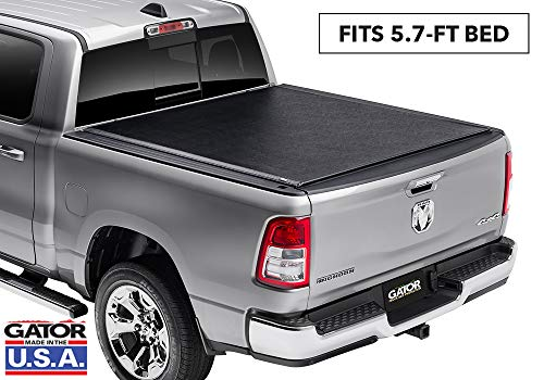 Gator ETX Soft Roll Up Truck Bed Tonneau Cover | 1385954 | Fits 2019 - 2020 New Body Style Ram 1500 (New Body Style) Does Not Fit With Multi-Function (Split) Tailgate 5'7' Bed Bed | Made in the USA