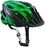 Alpina Kinder Fb Jr. 2.0 Fahrradhelm, Black-Green, 50-55 cm