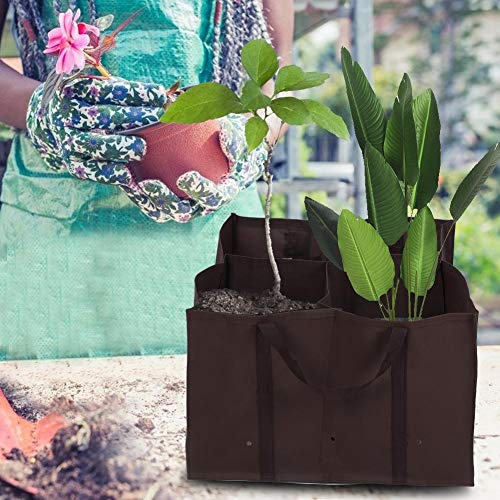 Garden Planter, Waterproof Growing Bags, PE Material Garden Pots for Balcony Garden Home Furnishings
