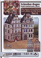 Schreiber-Bogen Card Modelling Old Town-Set 6