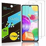 Didisky Pellicola Protettiva in Vetro Temperato per Samsung Galaxy A41, [2 Pezzi] Protezione Schermo [Tocco Morbido ] Facile da installare, Trasparente