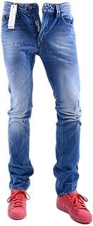 a1d84a73 Diesel Thavar 0663E Mens Denim Jeans 3D EVO Slim Fit Skinny