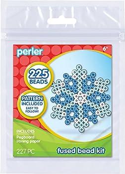 Perler Snowflake Fused Bead Kit