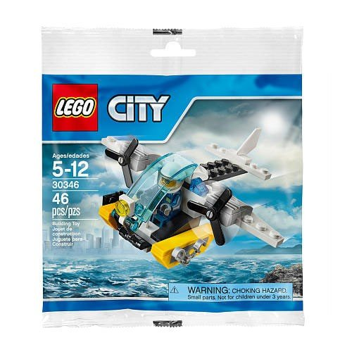 LEGO City Prison Island Helicopter (Bagged)