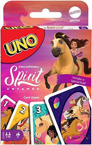 Mattel Spirit Untamed UNO DreamWork…