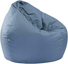 Lazy Lounger Bean Bag Chairs for Adults Kids Bean Bag Storage Chair for Stuffed Animals Teens Boys Girls Bedroom (Grey, 25...