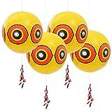 Gardigo Vogelabwehr Ballon 4er Set I Ballon zum vertreiben von Vögeln I Vogelschreck für Spatzen, Tauben, Spechte