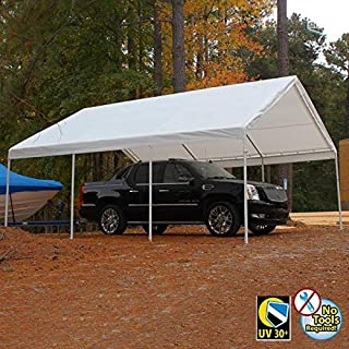 King Canopy Hercules Canopy with Cover White Cover/18' x 20'