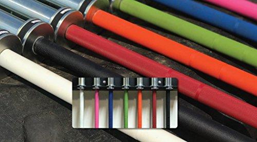 Wright Equipment - Cerakote V3 Colored Barbell - Men's 20kg - Choose Color (Red)