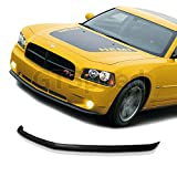 GT-Speed - OE Style PU Front Bumper Lip - Compatible With 2005-2010 Dodge Charger SE/SXT/RT (Not Compatible With SRT Bumper)