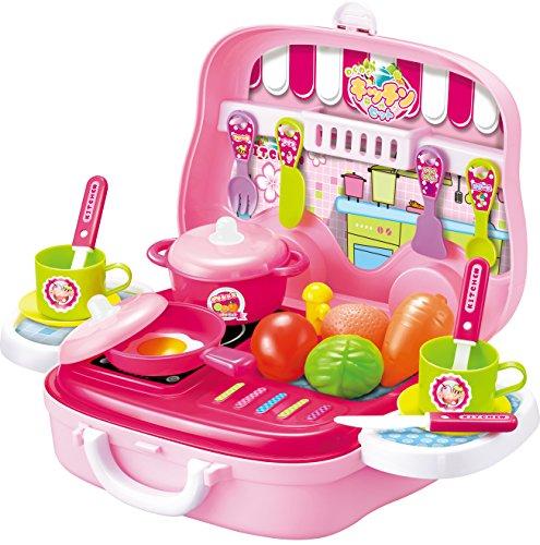 子供用玩具 なりきりごっこあそびセット(B) わくわくキッチンセット
