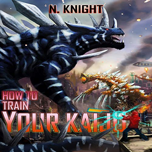 How to Train Your Kaiju audiobook cover art
