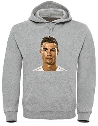 Cristiano Ronaldo Funny Mens & Ladies/Herren & Damen Unisex Hooded Pullover (M)