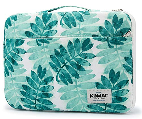 Kinmac 360 Degree Protective Waterproof Laptop Case Bag Sleeve with Handle (13 inch-13.3 inch, Olive Leaf)