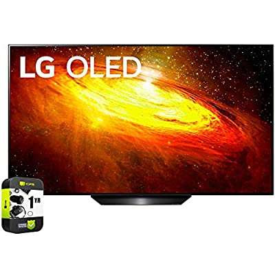 LG BX 4K Smart OLED TV with AI ThinQ 2020 Model Bundle with 1 Year Extended Protection Plan by LG