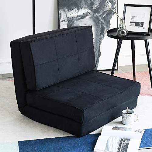 Aclumsy Futon Furniture Sleeper Sofa Folding Memory Foam Bed Floor Couch Guest Chaise Lounge product image