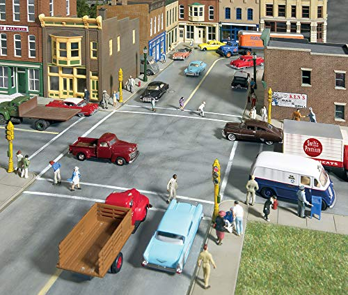 Walthers Cornerstone Series Kit Full Set HO Scale Concrete Street System