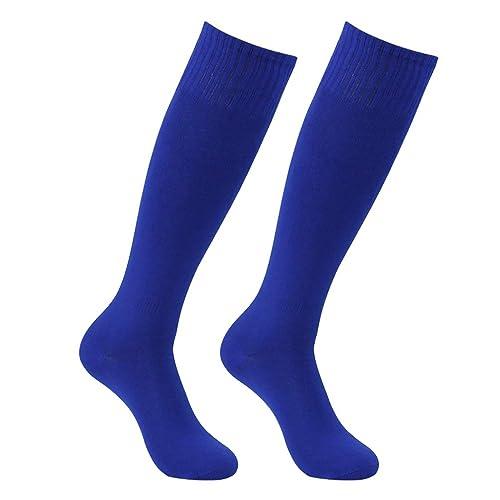 the best attitude d7772 c4e1b Long Tube Soccer Socks, Feelingway Unisex Knee High Solid Sport Football  Socks 2-10